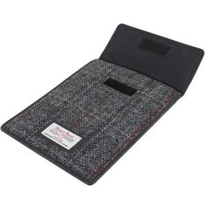 Harris Tweed Mini Tablet Case: Berneray Grey