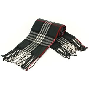 Fine Knit Chequered Multi Colour Scarf Colour Sc