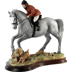 Border Fine Arts Classic Figurine - A Good Day Out (Grey Bay Horse)
