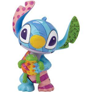 Disney Britto Stitch with Frog Mini Figurine