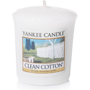 Yankee Candle Votive Sampler - Clean Cotton
