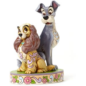 Disney Traditions 60th Anniversary Piece - Opposites Attract (Lady & The Tramp)