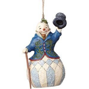 Heartwood Creek Hanging Ornament - Victorian Snowman