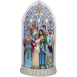 Heartwood Creek Nativity Figurine Light of the World