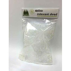 10g green superfine iridescent shred