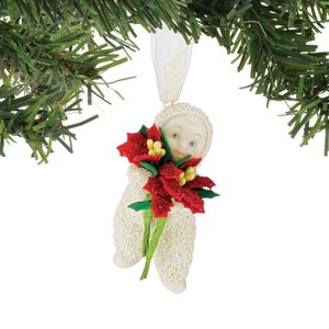 Snowbabies Hanging Ornament - Baby Blossoms