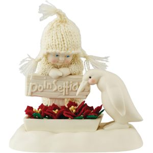 Snowbabies Grown for Christmas Figurine