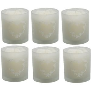 Wedding Favours Scented Candle in Glass Holder 6 Pack