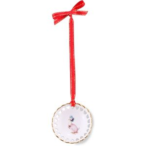 Beatrix Potter Jemima Puddle Duck Hanging Ornament