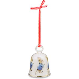 Peter Rabbit Bell Hanging Tree Ornament