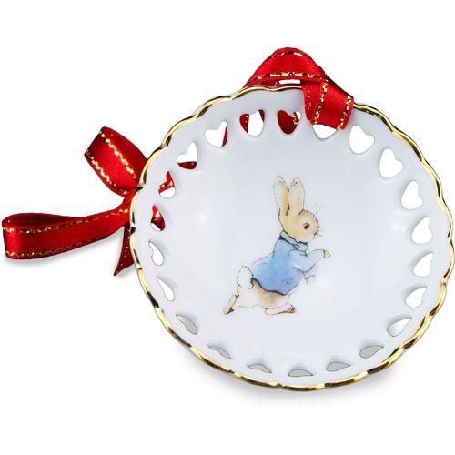 Reutter Porcelain Beatrix Potter Peter Rabbit Hanging tree ornament