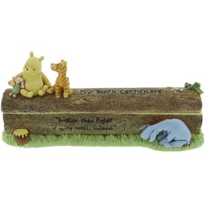 Disney Classic Pooh Birth Certificate Holder