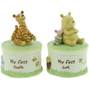 Disney Classic My First Tooth & My First Curl Keepsake Set - Winnie the Pooh