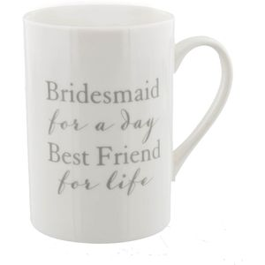 Amore Wedding Party Bone China Mug - Bridesmaid