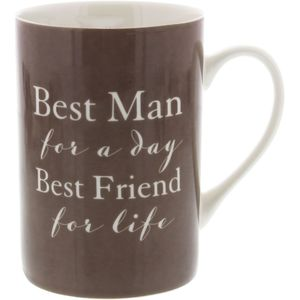 Amore Mug Best Man Keepsake Gift