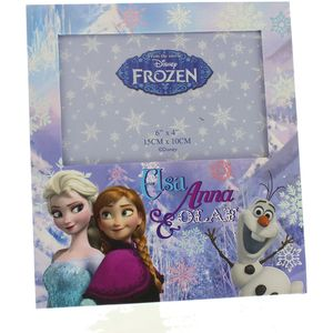Disney Photo Frame _ Elsa Anna & Olaf 6x4""