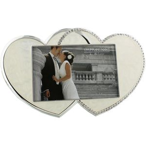 Love Hearts Photo Frame 6x4""
