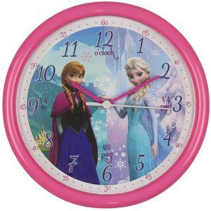 Disney Frozen Wall Clock - Anna & Elsa