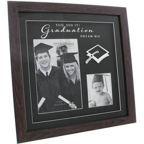 Impressions Collage Photo Frame - Graduation