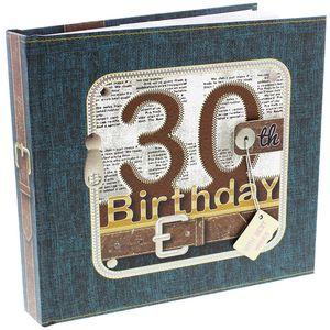 Birthday Photo Album - Age 30