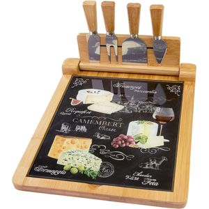 Ardesia Range Cheeseboard & Knives (Folding)