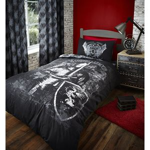 Catherine Lansfield Valiant Knight Duvet Quilt Cover Set - Double Bed