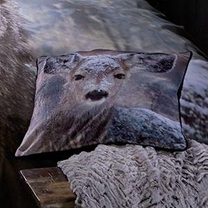 Catherine Lansfield Cushion 43cm x 43cm - Oh Deer