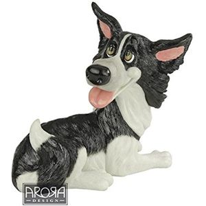 Pets with Personality Brook the Border Collie Figurine