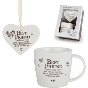 Heart & Mug Gift Set - Best Friend