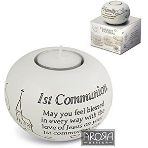 Said with Sentiment Candle Holder: 1st Communion
