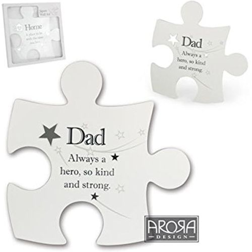 Jisaw wall art Dad design with sentiment verse