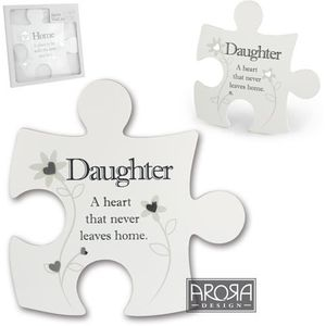 Said with Sentiment Jigsaw Wall Art - Daughter