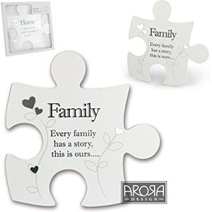 Said with Sentiment Jigsaw Wall Art - Family