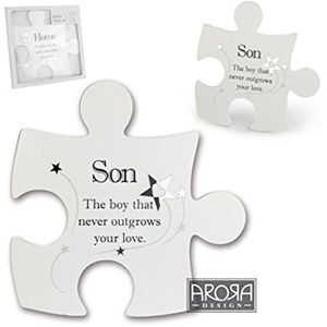 Said with Sentiment Jigsaw Wall Art - Son