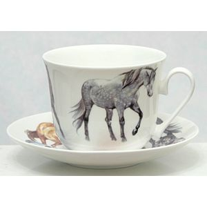 My Horse Breakfast Cup & Saucer Gift Set