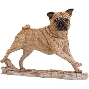 Border Classics Contemporary Pug Dog Figurine