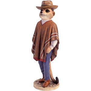 Magnificent Meerkats Cowboy Figurine