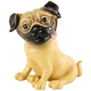 Little Paws Podge Pug Dog Figurine