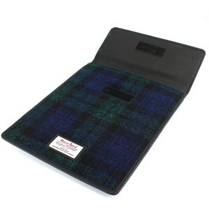 Harris Tweed Mini Tablet Case: Bragar Black Watch