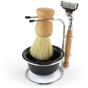 Men's Shaving Wooden Set