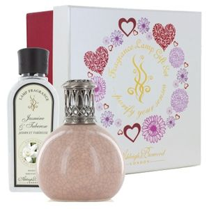 Fragrance Lamp Gift Set Peach Blush & Jasmine-Tuberose