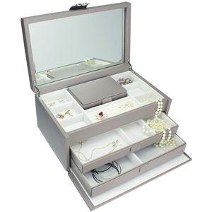 Dulwich Designs Extra Large Jewellery Box - Mink