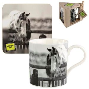 Villager Jim Best Mates Mug & Coaster Set