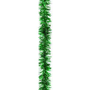 Christmas Tree Tinsel - Chunky Cut Green Pack of 5 2M Length