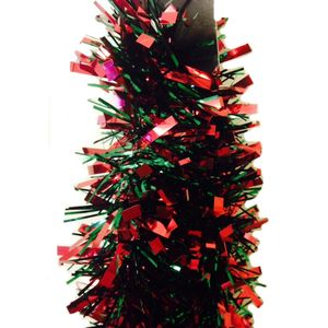 Christmas Garland Tinsel - Red & Green 10x2M