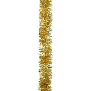 5 Lengths x2M Chunky Cut Christmas Tree Tinsel - Gold