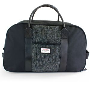 Harris Tweed Holdall with Wheels