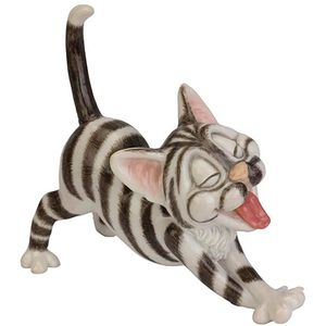 Little Paws Nevil (silver & white) Cat Figurine