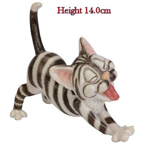 Arora Design Little Paws Stripey Cat Figurine