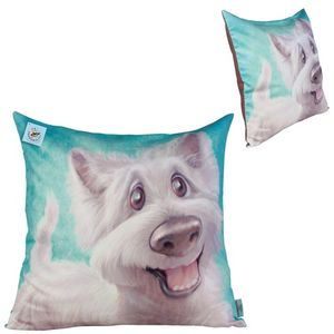 Pets with Personality Westie Cushion